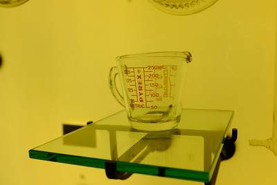 The original Pyrex measuring cup, circa 1920