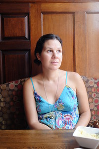 Becca - Portrait at lunch