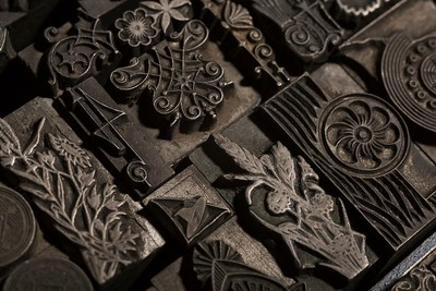 Typographical ornaments. Late 19th century.