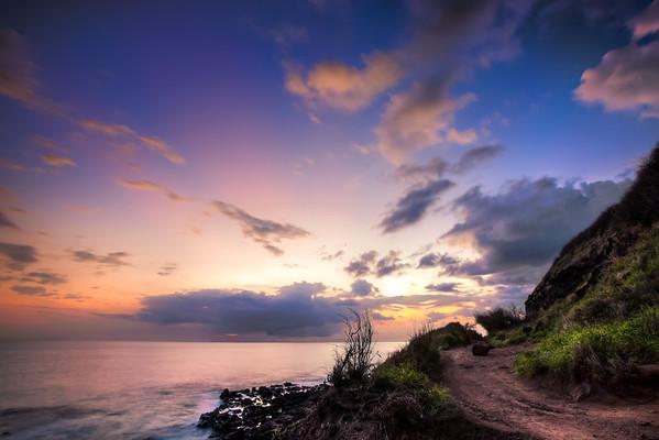 Kaena Pt. trail, Oahu, Hawaii