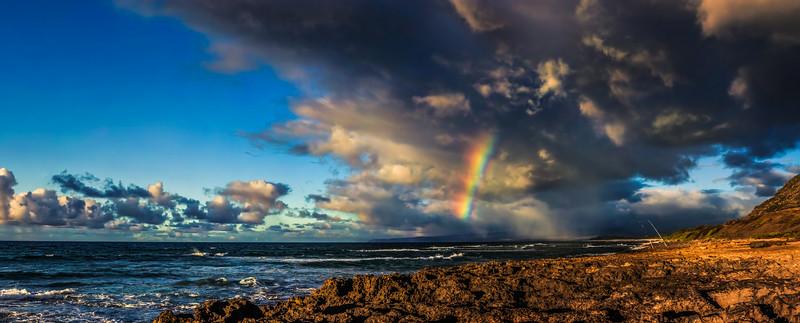 Rainbow Over Mokuleia
