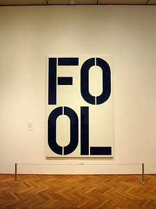 Christopher Wool exhibit
