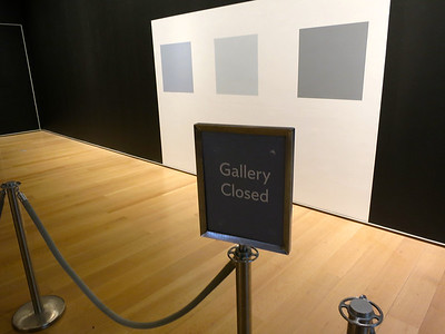 Is it a gallery?  Or is it a space?   Is it really closed?
