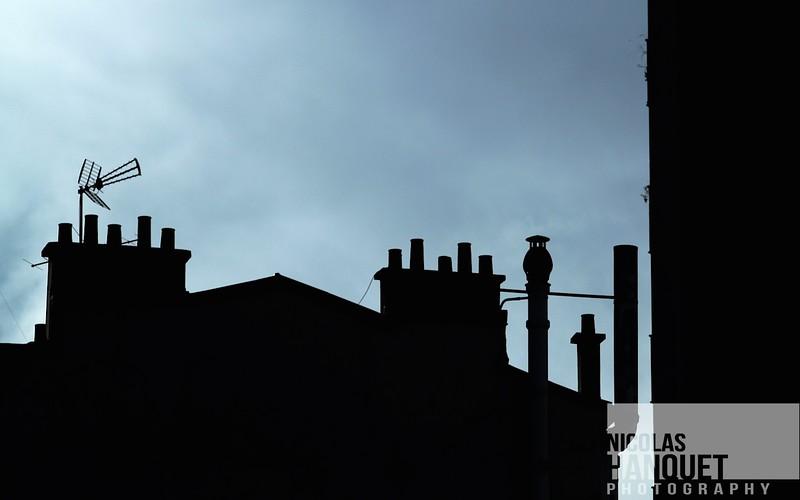 Chimneys, Paris, France, 2010