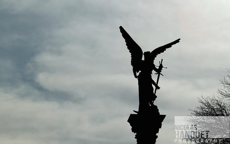 Statue, Paris, France, 2010