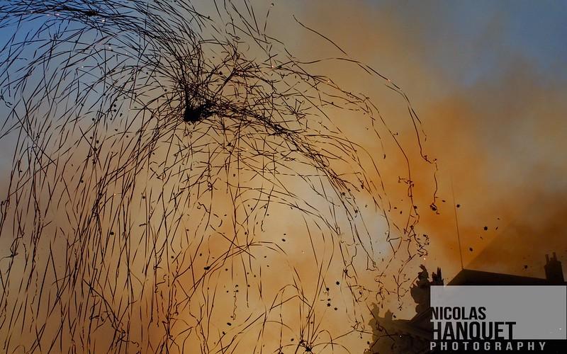 Confetti explosion 2, Dijon, Burgundy, France, 2006