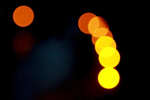 A traffic Light, Richmond, North Yorkshire, UK, 2010