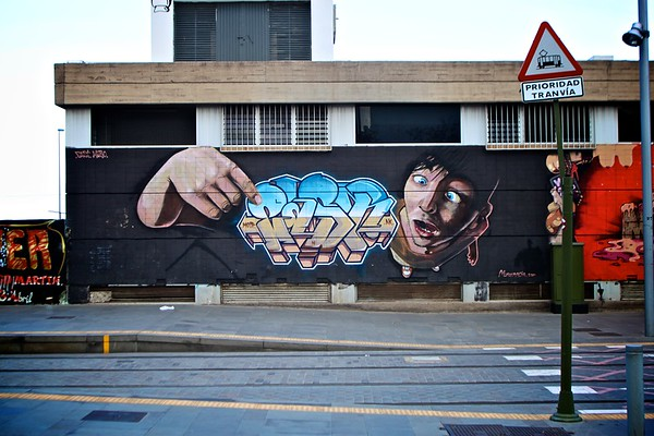 Street Art, Santa Cruz, Tenerife, Spain, 2011