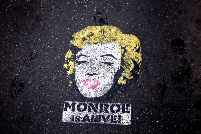 Monroe is alive, Budapest, Hungaria, 2011