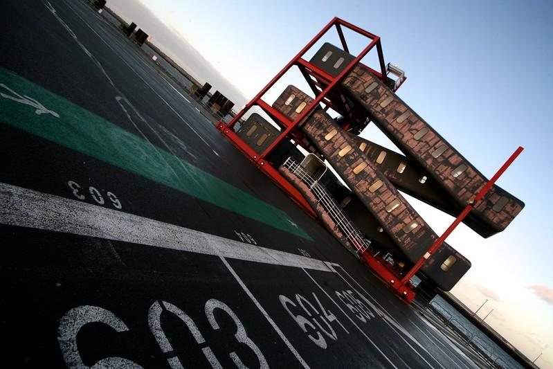 Ferry port, Calais, France, 2012