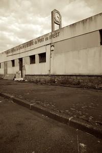Brest Port Labour Office, Brest, Bretagne, France, 2013