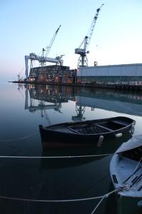Shipyard reflections 1, Ficantieri Montfalcone, Italy, 2013