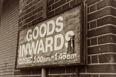 Goods Inwards, Birmingham, UK, 2011
