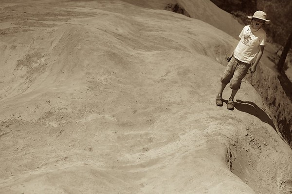 Child, Colorado de Rustrel, Roussillon, France, 2012