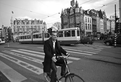 Biker, Amsterdam, Netherlands, 2012