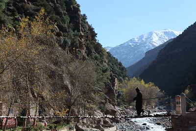 Back home, Ourika valley, Morocco, 2012