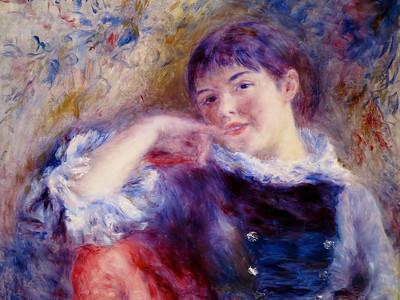 Renoir.  The Dreamer.  1879.