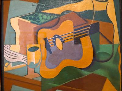 Juan Gris.  Still Life with Guitar.  1920.