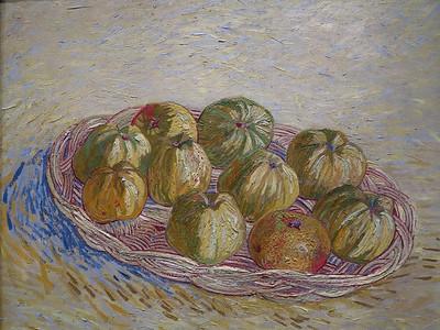 Vincent Willem van Gogh.  Still Life.  Basket of Apples.  1887.