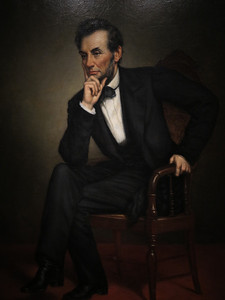 Abraham Lincoln,  George P.A. Healey, 1887