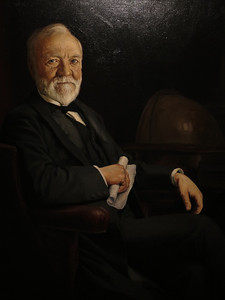 Andrew Carnegie, unknown artist, 1905