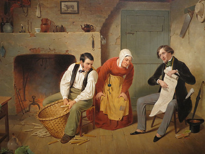 The Speculator, Francis William Edmonds, 1852