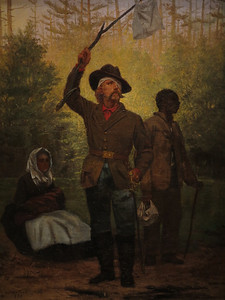 Surrender of a Confederate Soldier, Julian Scott,  1873