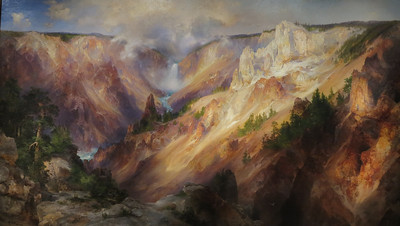 Grand Canyon of the Yellowstone,  Thomas Moran