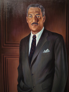 Thurgood Marshall, Betsy Graves Reyneau, 1956