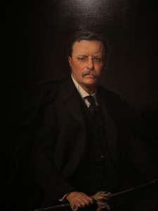Theodore Roosevelt,  Adrian Lamb, 1967 after the 1908 original
