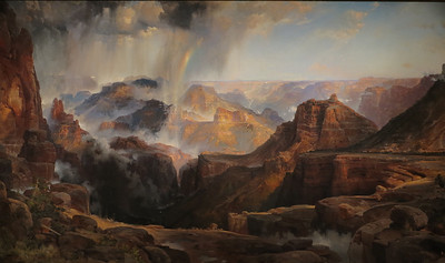 The Chasm of the Colorado, Thomas Moran, 1873-74