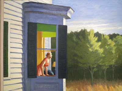 Cape Cod Morning, Edward Hopper, 1950