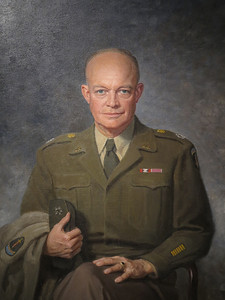 Dwight David Eisenhower, by Thomas E Stephens, 1947
