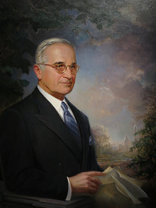 Harry S Truman, by Greta Kempton, 1948 (finished 1970)