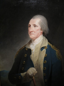 George Washington by Robert Edge Pine, 1785