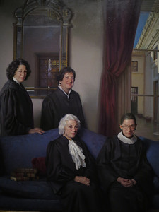 The Four Justices, 2012, Nelson Shanks