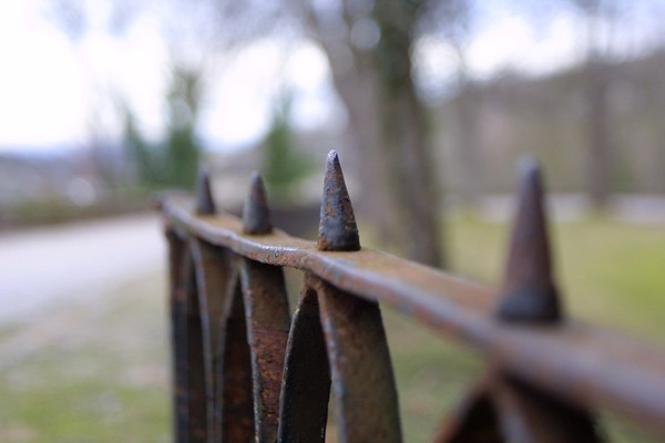 Rusty fence, Baden-Baden,Germany,2008