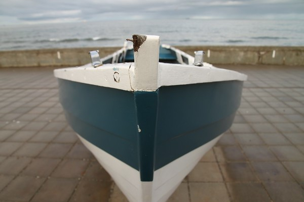 Boat, Redcar, North Yorkshire, UK, 2010