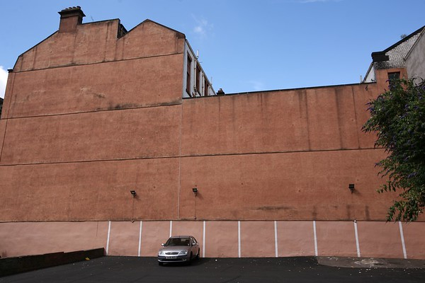 Plain facade, Glasgow, Scotland, UK, 2008