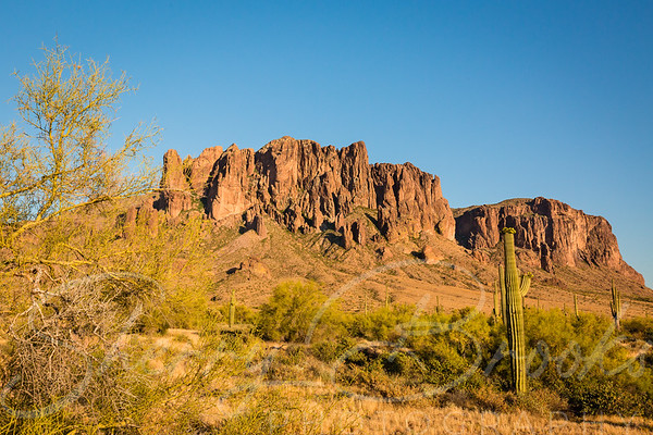 View at Superstition Mountains
