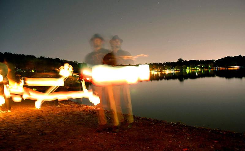 "The Uncanny: Extension of Self, JP Lantern Festival, 2008, 17""x22"""