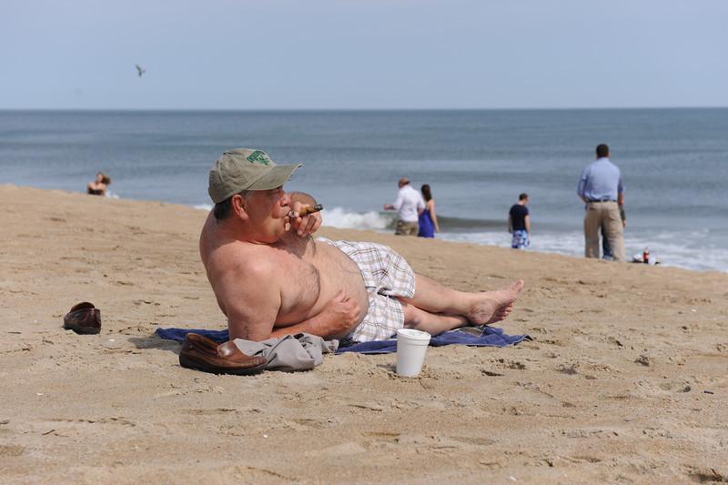 "The Uncanny: Extension of Self,  Salisbury Beach, 2011, 17""x22"""