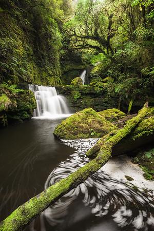 Tautuku River cascade, Catlins, Southland