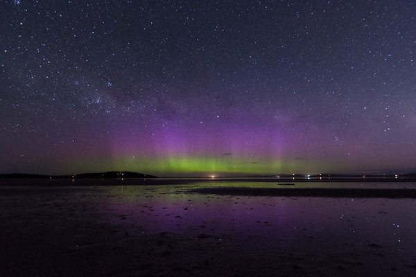 Stuck our heads out for a little Aurora look tonight…  22 November 2017 - Mortimer Bay  © Fiona Gumboots  - All images are copyright and not to be reproduced, distributed, published, altered, manipulated or used without my permission.  Sharing via the 'share' button on facebook is more than welcome.  http://thegumbootchronicles.com/