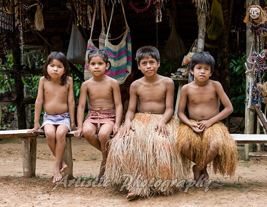 Yagua Indian Childen