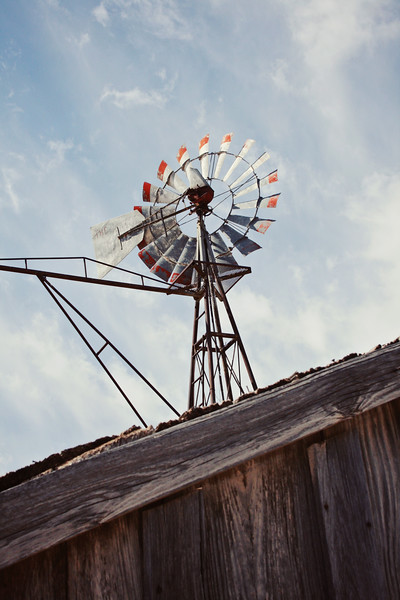 Windmill and Wood