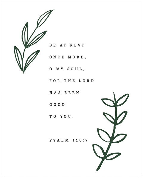Be at Rest