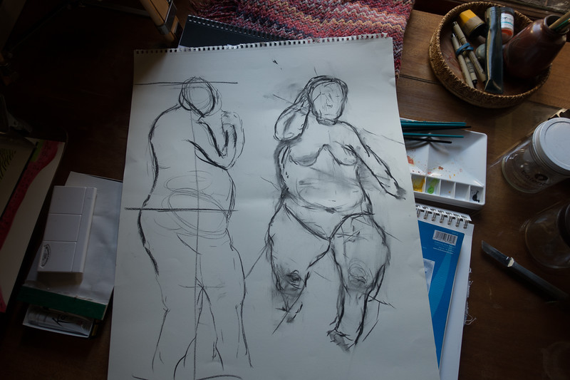 Figure Drawing - Second Lesson