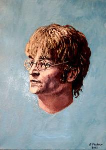 John Lennon restoration piece