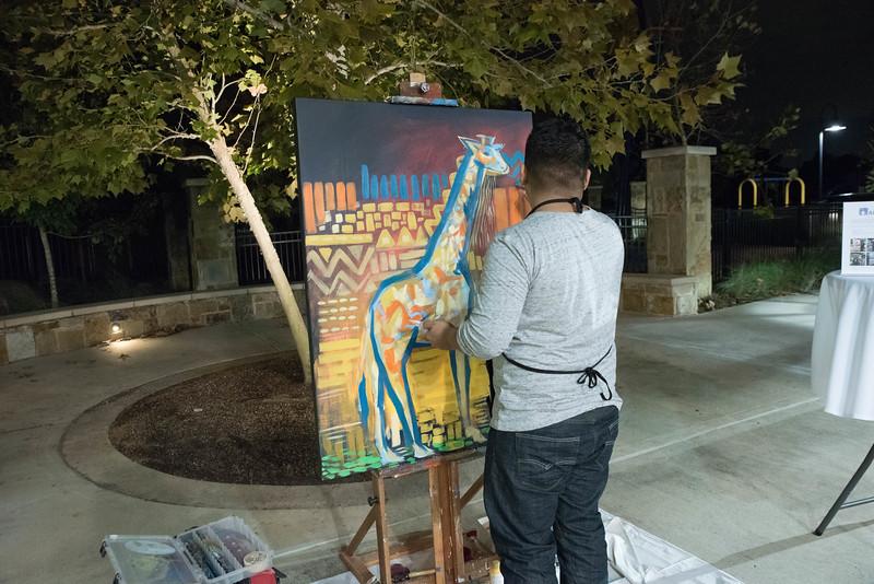 Artist Mark DeLeon